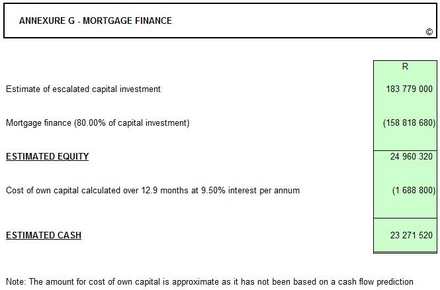 mortgage finance report